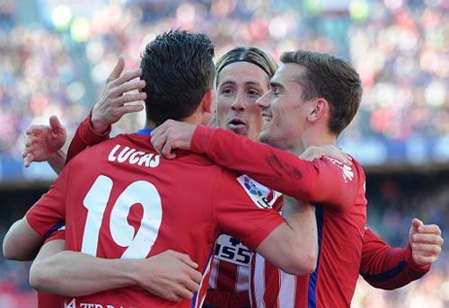 Atletico Madrid – Granada: Phả hơi nóng lên Barca - 1