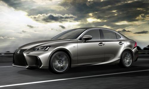 Ngắm Lexus IS dùng ống xả vuông, nội thất cao cấp hơn - 1
