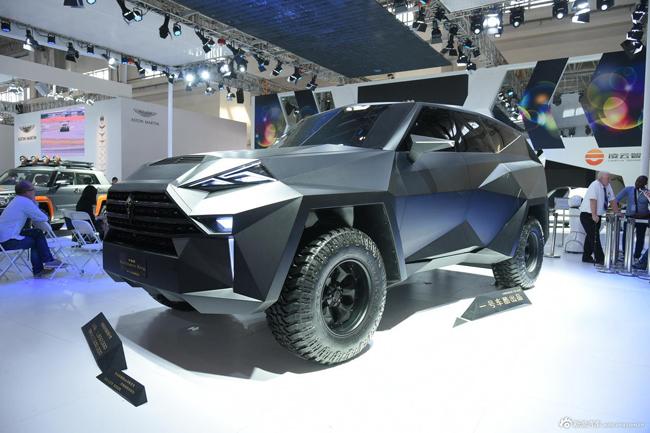 Hãng xe Trung Quốc là IAT đã đem đến Triển lãm ô tô đang diễn ra ở Bắc Kinh một mẫu xe SUV có tên gọi IAT Kalman.