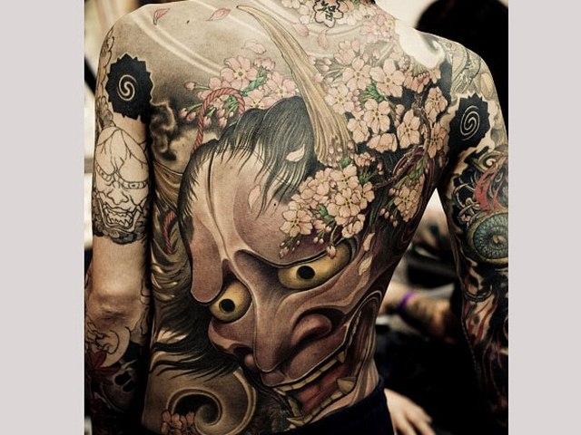 Ý nghĩa hình xăm rồng phượng trên người mafia Nhật - 6