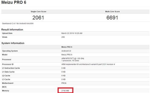 Meizu Pro 6 phiên bản giá rẻ sắp ra mắt - 1