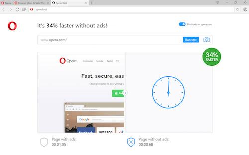 Trình duyệt Opera có tính năng chặn quảng cáo cực hiệu quả - 1