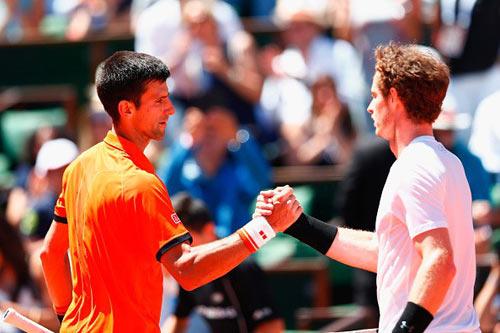 "CK Madrid Open: Murray & ""ngọn núi"" Djokovic - 1"