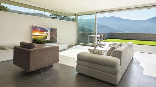 Biến tấu không gian phòng khách với TV Samsung SUHD 2016 - 1