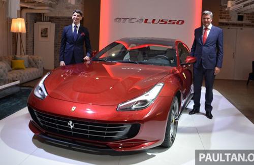 Ferrari GTC4Lusso sắp về Việt Nam: Mạnh mẽ và hiện đại - 1