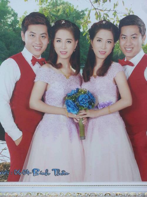 Anh em song sinh cưới chị em sinh đôi ở Cà Mau - 1
