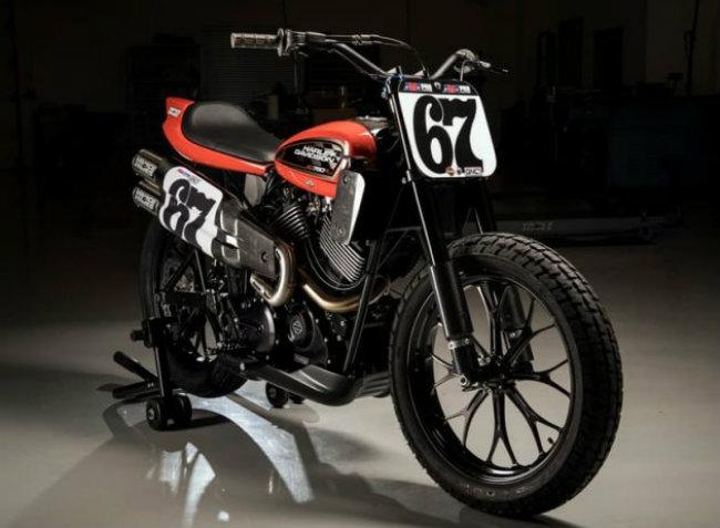 XG750R thuộc dòng xe đua Flat Tracker đầu tiên do hãng sản xuất xe mô tô Mỹ Harley-Davidson chế tạo sau suốt 44 năm thành công của XR750.