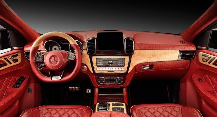 Mercedes GLE Coupe rực rỡ sắc đỏ của hãng độ TopCar - 1