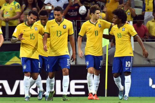 Kết quả hình ảnh cho bóng đá nước  Brazil
