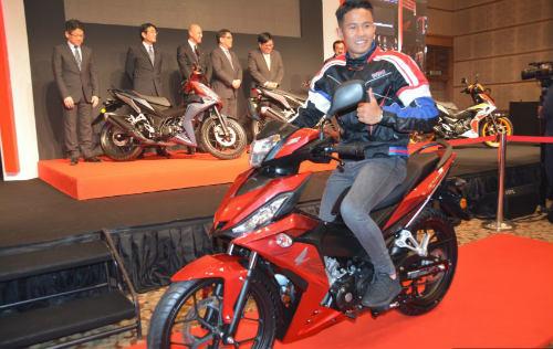 Honda Winner 150 bản Respol ra mắt ở Malaysia - 1