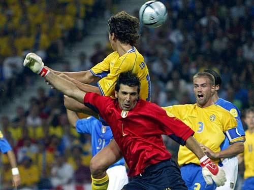 Italia gặp Thụy Điển - 1
