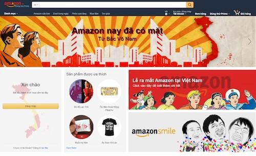 """Amazon sẽ """"đặt chân"""" vào Việt Nam với tên miền amazon.vn? - 1"""