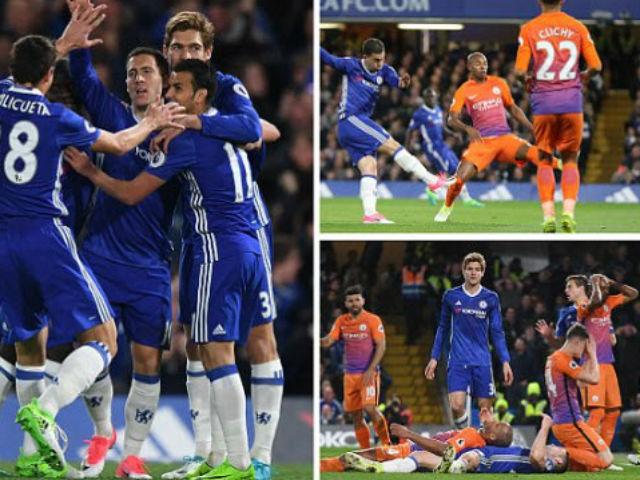 Góc chiến thuật Chelsea - Man City: Chơi dao đứt tay