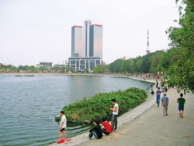 HN: Đề xuất lấp hồ Thành Công để xây nhà tái định cư - 1