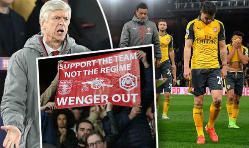 """Arsenal 90% hụt top 4: Wenger là """"kẻ mê sảng"""" - 1"""