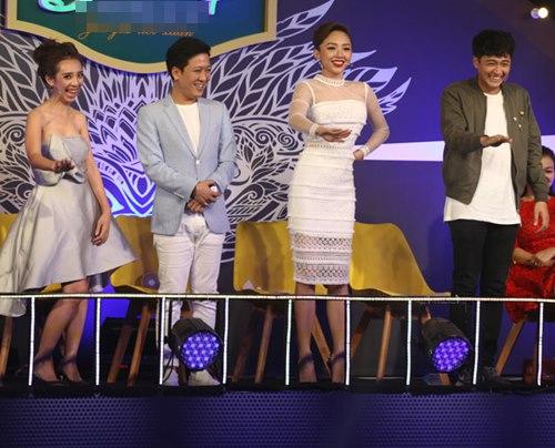 Trường Giang cúi đầu xin lỗi thay Tóc Tiên trên truyền hình - 1