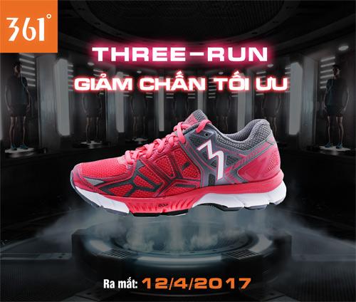 Three-Run 361º – giày chạy hàng đầu thế giới - đã có mặt tại Việt Nam - 1