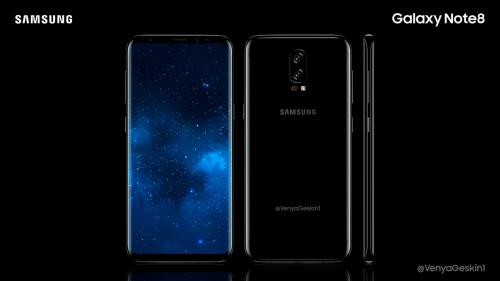 Samsung Galaxy Note 8 màn hình 6,4 inch đẹp mê hồn - 1