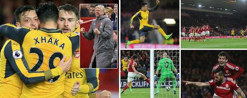Arsenal vẫn đua top 4, Wenger lí giải cách tân đội hình - 1