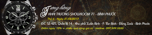 Đăng Quang Watch khai trương cửa hàng thứ 71 tại Bình Phước - 1