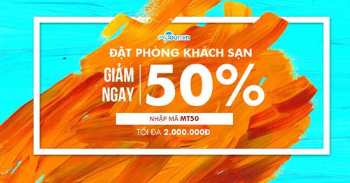 Đặt phòng liền tay với mã giảm giá 50% cực hot từ Mytour.vn - 1