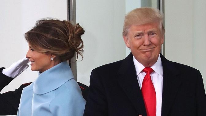 Tại sao Trump giữ khoảng cách với vợ? - 1
