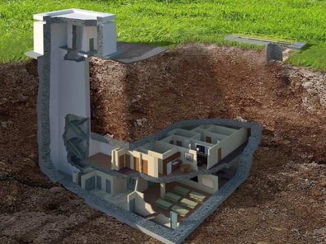 Hầm tránh bom hạt nhân 400 tỉ siêu sang ở Mỹ