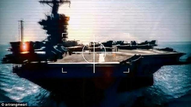 """Triều Tiên tung video dội """"biển lửa"""" vào Nhà Trắng - 1"""