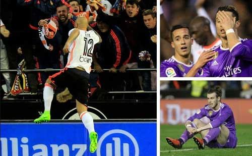 Liga trước vòng 35: Real, Barca sảy chân là xuống vực - 1