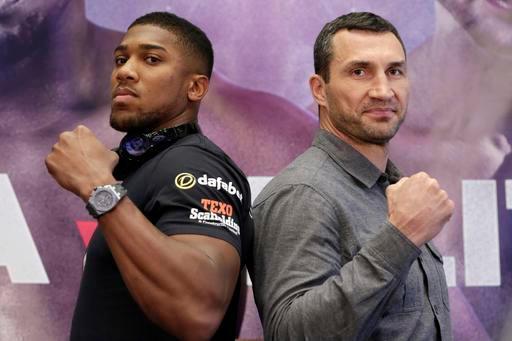 Đại chiến boxing Klitschko - Joshua: Song hùng tranh bá - 1