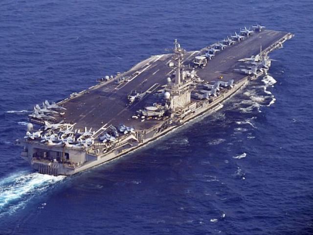 Tàu chiến Mỹ tiến về phía Triều Tiên sau vụ thử tên lửa