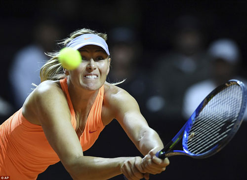 Sharapova – Mladenovic: 3 set giằng co nghẹt thở (Bán kết Stuttgart Open) - 1