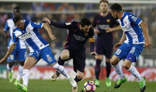 Espanyol - Barcelona: Hiệp 2 bùng nổ, bàn thắng tới tấp - 1