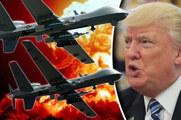 """Dàn máy bay sát thủ của Trump nằm """"sát nách"""" Triều Tiên - 1"""