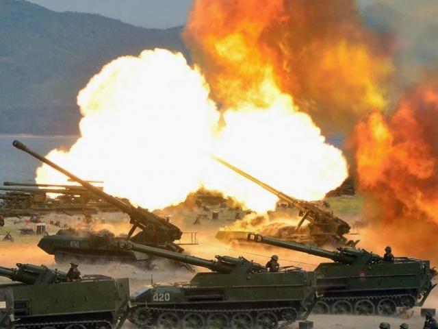 Triều Tiên dọa đánh đắm tàu ngầm hạt nhân lớn nhất của Mỹ