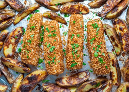 Ngon bất ngờ, cá vược nên duyên cùng khoai tây - 1