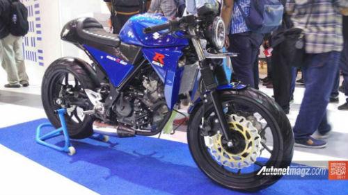 Suzuki GSX-R150 độ café racer cuốn hút dân chơi - 1