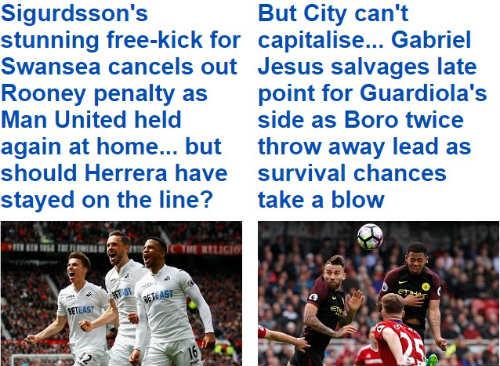 Manchester suýt thất thủ: Mourinho, Pep bị chê tơi bời - 1