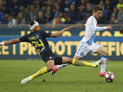 Inter - Napoli: Sai lầm ngớ ngẩn, cả đội thua đau - 1