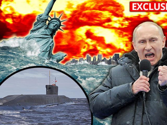 Nga bí mật cài tên lửa hạt nhân để tạo sóng thần nhằm vào Mỹ?