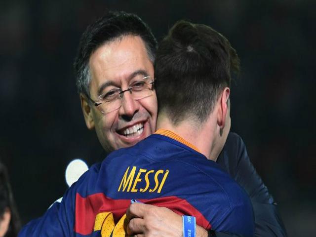 Messi dọa ra đi, chủ tịch Barca