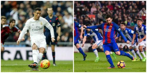 Sút penalty tệ nhất: Messi cười lại Ronaldo - 1
