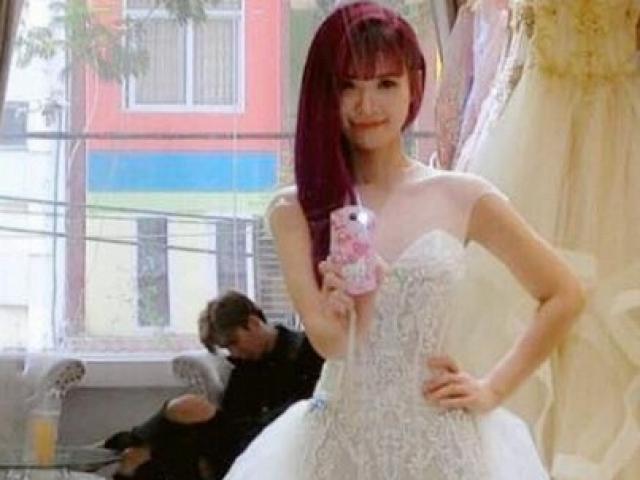 Rò rỉ ảnh Khởi My mặc thử váy cưới đẹp long lanh như nữ thần