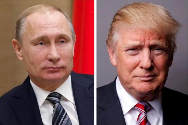 Trump-Putin lần đầu điện đàm sau vụ Mỹ phóng tên lửa Syria - 1