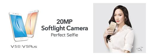 Vivo V5s tiếp tục giữ vững tính năng Selfie khủng chưa từng có - 1