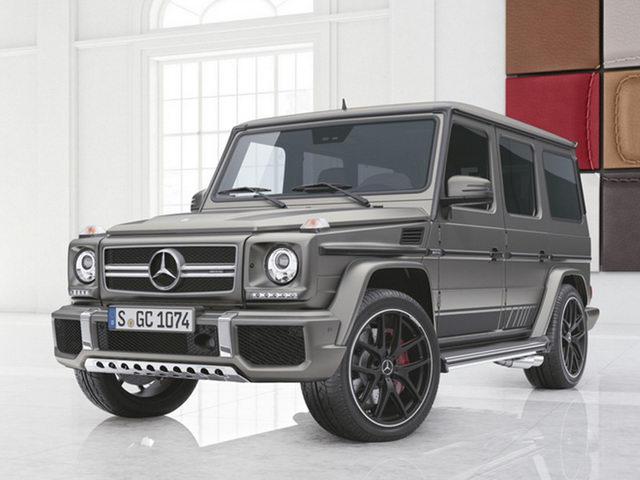 Mercedes thêm 2 bản đặc biệt cho G-Class - 1