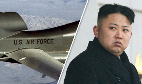 """""""Ác điểu"""" RQ-4 Global Hawk Mỹ điều đến đối phó Triều Tiên - 1"""