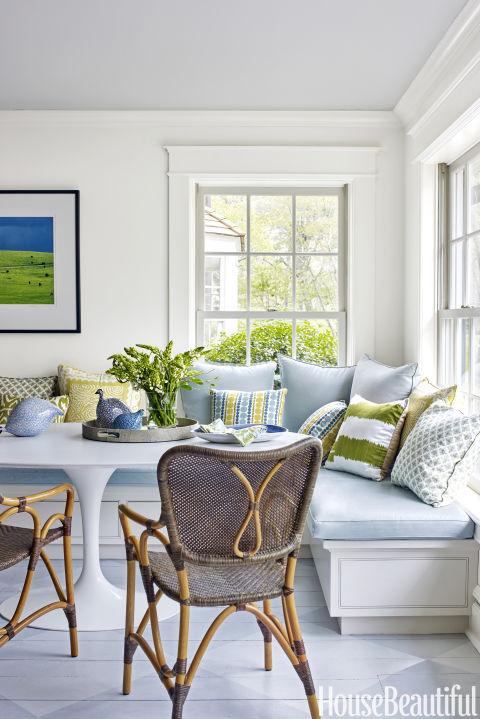 Gợi ý trang trí nhà ngập sắc xanh cho mùa hè dịu mát - 1
