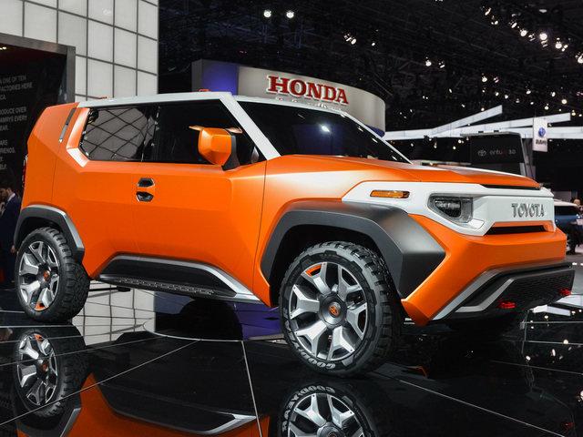 Toyota FT-4X: SUV thế hệ mới cho giới trẻ - 1