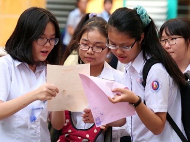 TP.HCM: Công bố số liệu tuyển sinh lớp 10